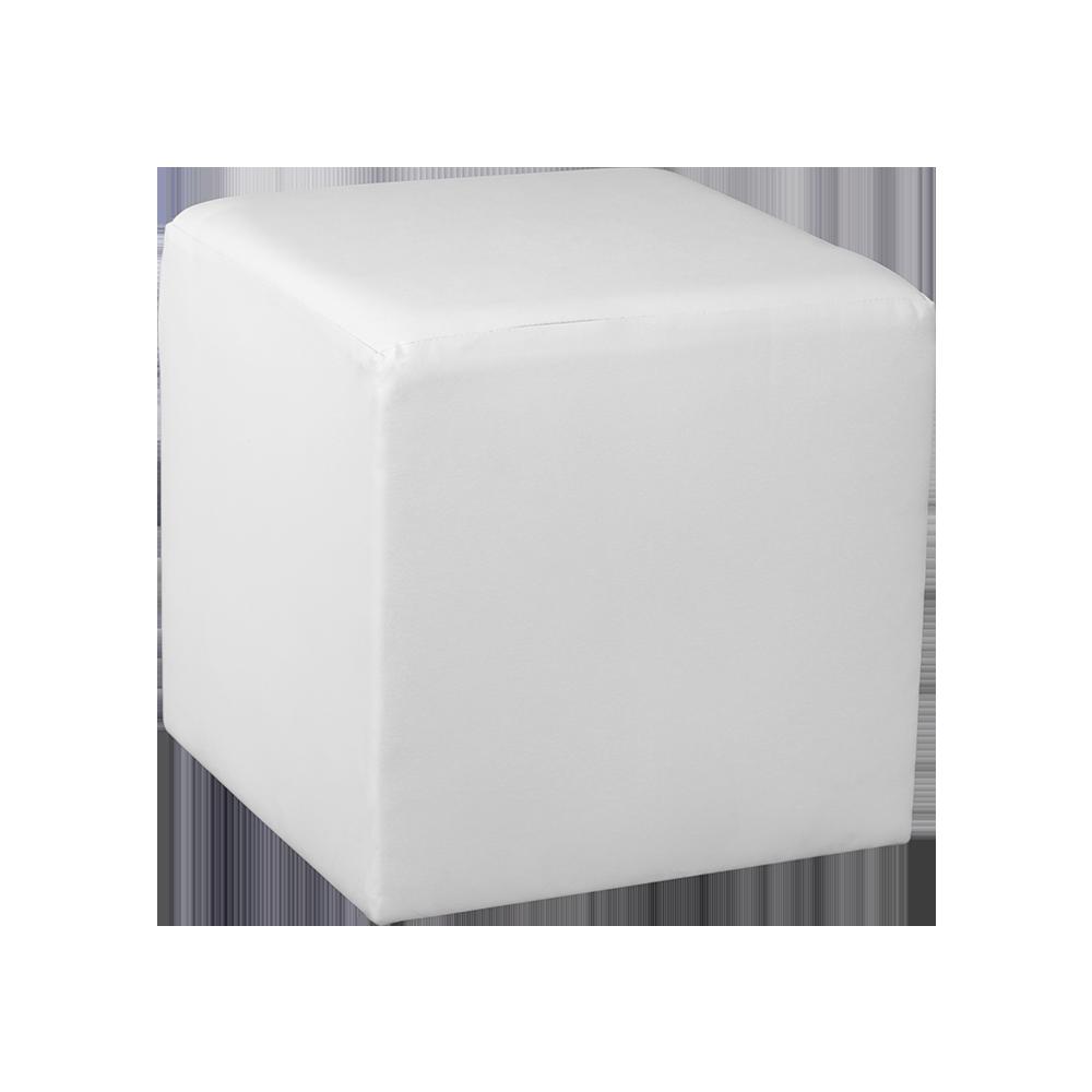 Cool Square Cube Ottoman White Creativecarmelina Interior Chair Design Creativecarmelinacom