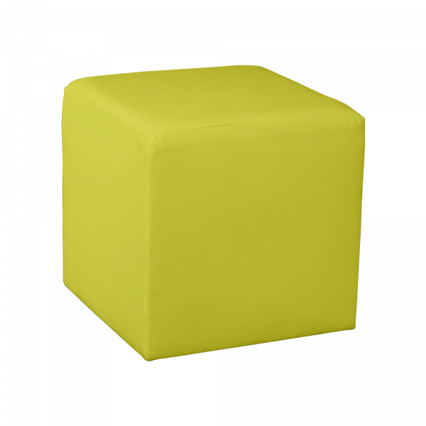 Marvelous Square Cube Ottoman Yellow Bralicious Painted Fabric Chair Ideas Braliciousco