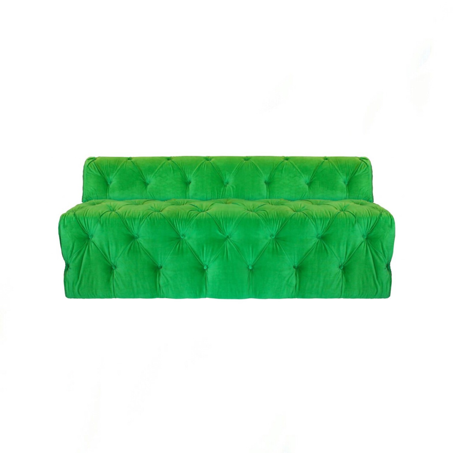 Fitz Tufted Green