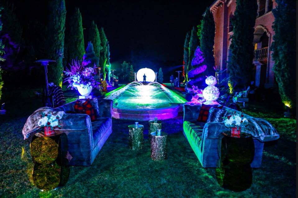 projection light laser art