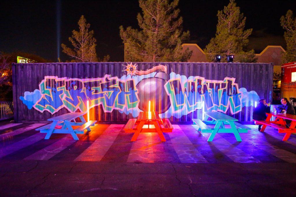 fresh wata art event